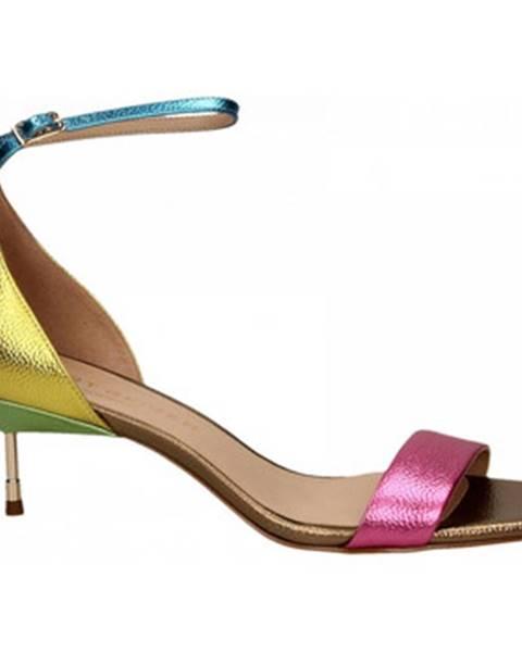Viacfarebné topánky Kurt Geiger London