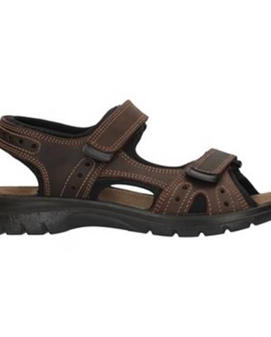 Hnedé športové sandále Imac