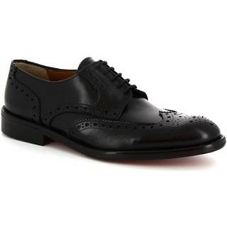 Derbie Leonardo Shoes  T114 SIVIGLIA NERO