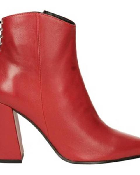 Červené topánky Adele Dezotti