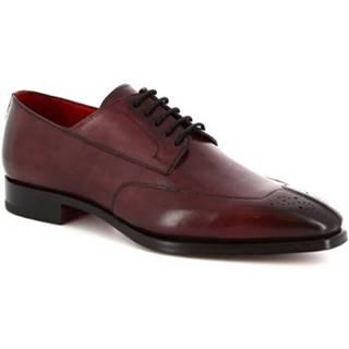 Derbie Leonardo Shoes  9047/19 TOM VITELLO BORDEAUX