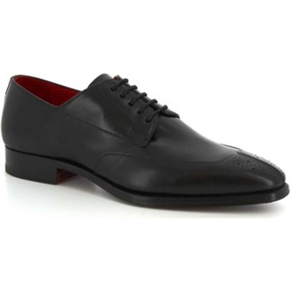Leonardo Shoes Derbie Leonardo Shoes  9047/19 TOM VITELLO NERO