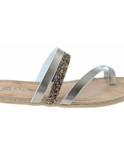 Strieborné topánky Amoa