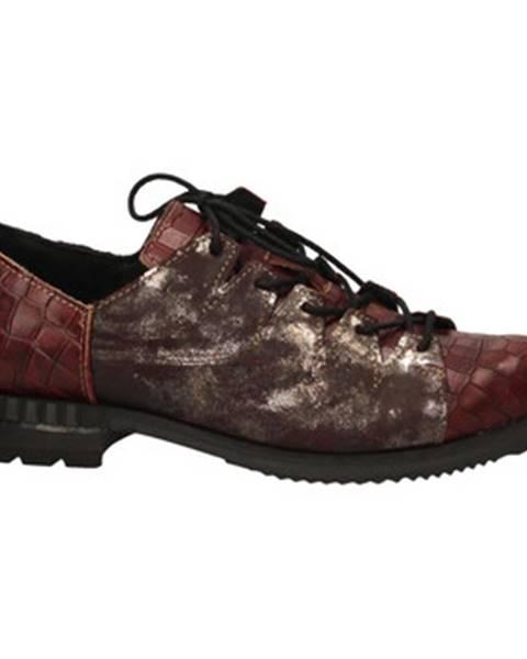 Červené topánky Clocharme