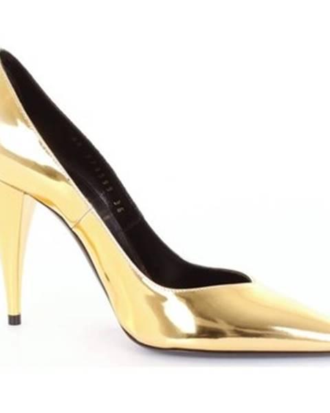 Zlaté topánky Saint Laurent