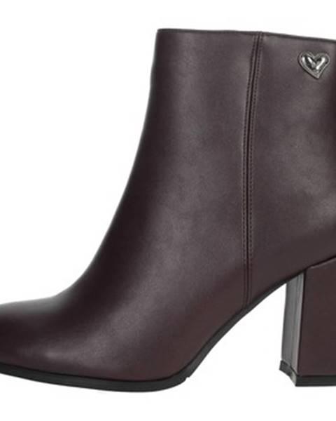 Červené topánky Braccialini