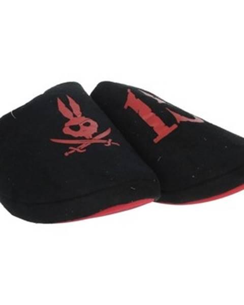 Čierne papuče Tommy Mikino