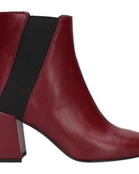 Červené topánky Lorenzo Mari