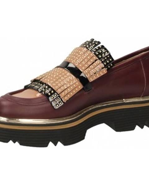 Čierne topánky Pollini Silver