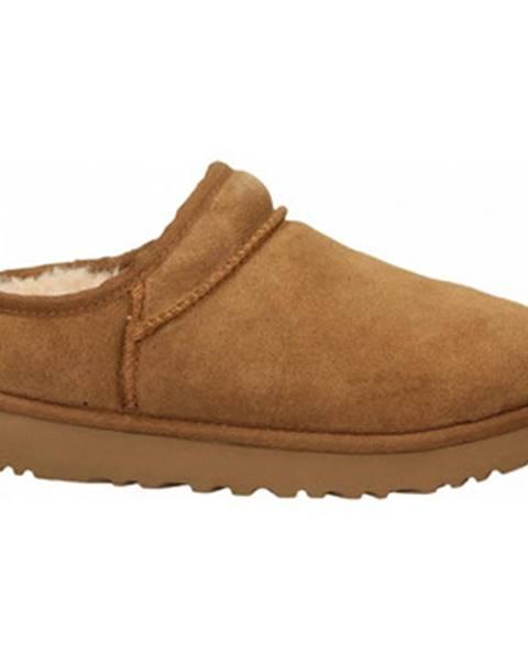 Hnedé papuče UGG