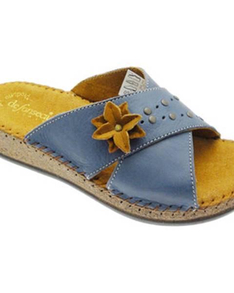 Modré topánky De Fonseca