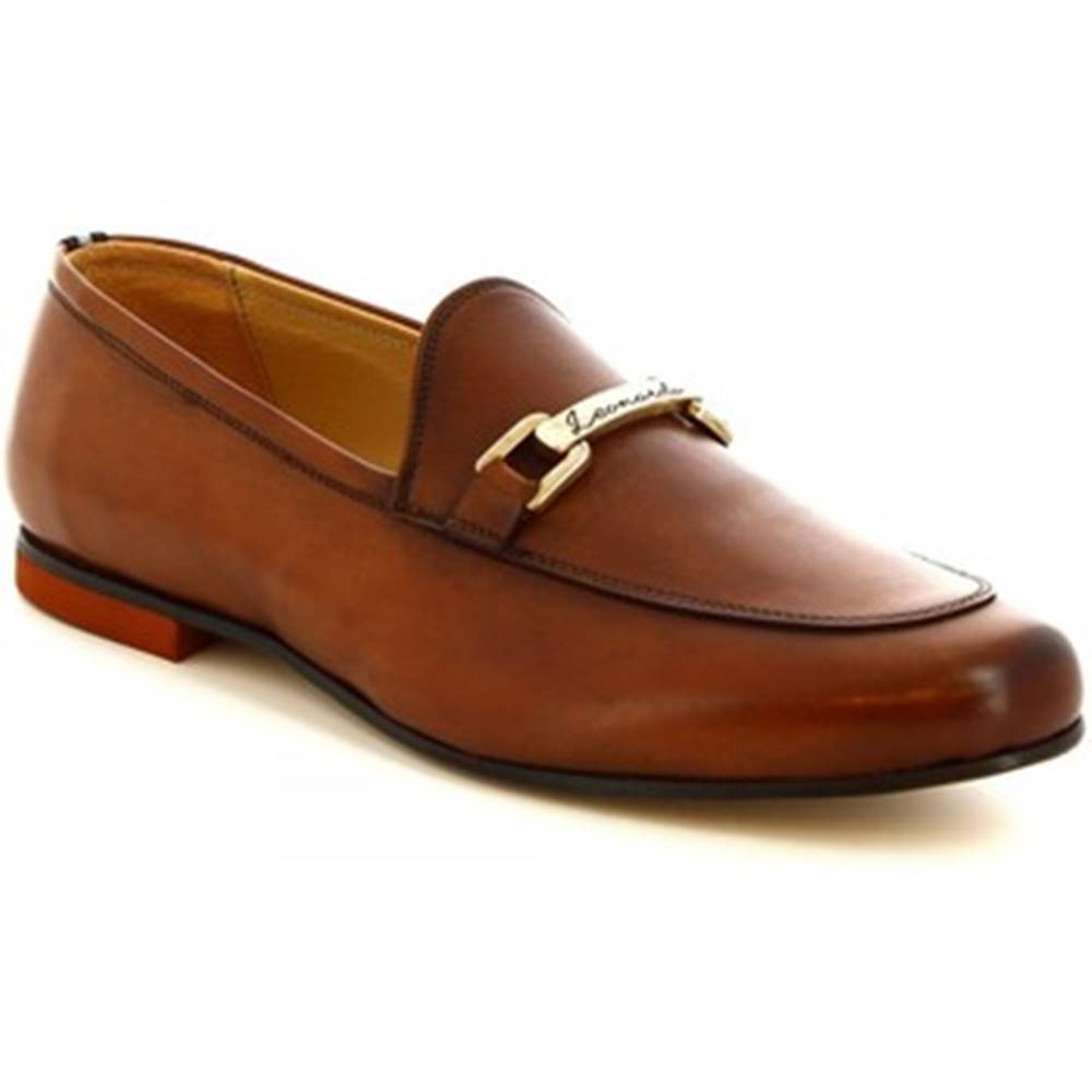 Leonardo Shoes Mokasíny  1070_1 PE VITELLO CUOI