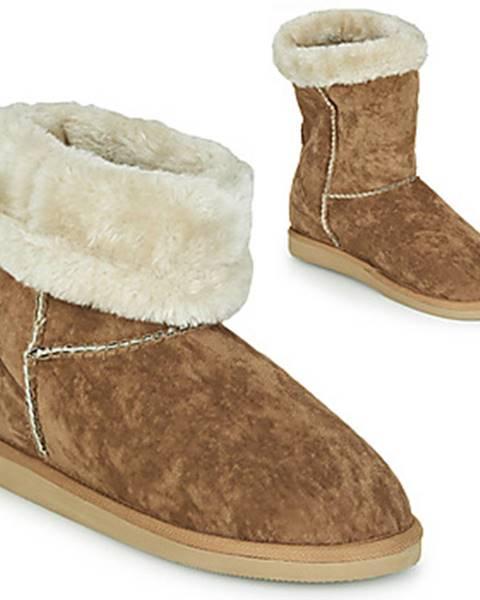 Hnedé papuče Cool shoe