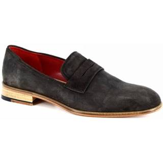 Mokasíny Leonardo Shoes  0312 V. T. D. M