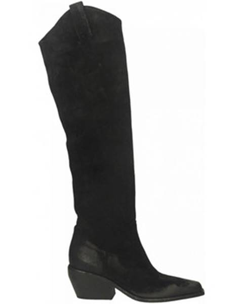 Čierne čižmy Elena Iachi
