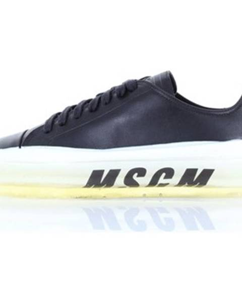 Čierne tenisky Msgm