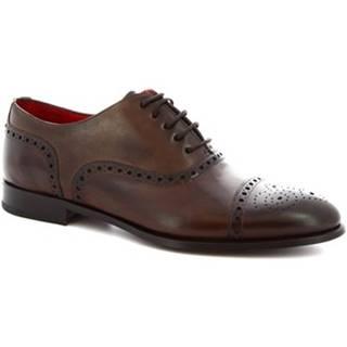 Richelieu Leonardo Shoes  5086I18 TOM MONTECARLO CIOCCOLATO