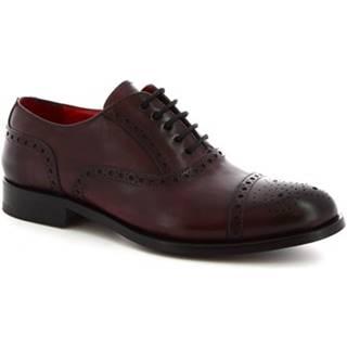 Richelieu Leonardo Shoes  5086I18 TOM MONTECARLO DELAVé BORDEAUX