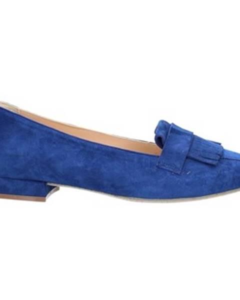 Modré topánky Cristian Daniel