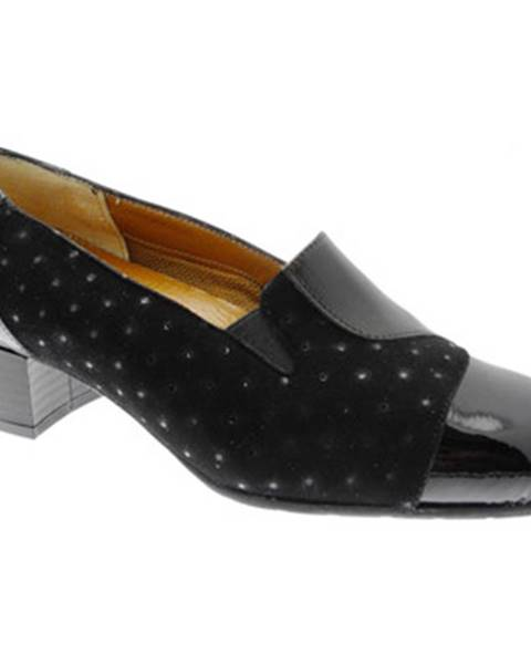 Čierne topánky Soffice Sogno