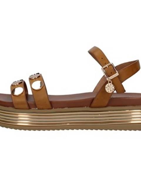 Hnedé topánky Gold gold