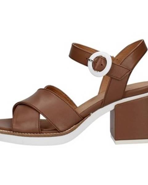 Hnedé topánky Janet Sport