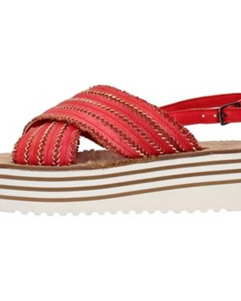Červené topánky Zoe
