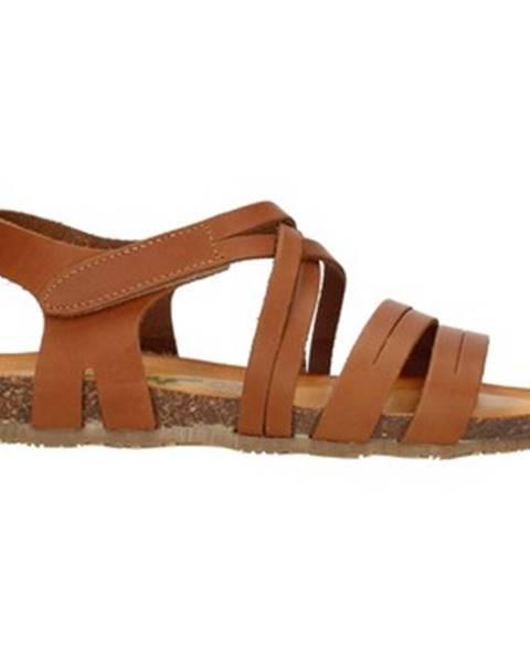 Hnedé topánky Bionatura
