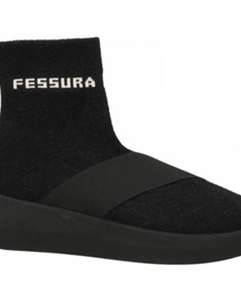 Čierne tenisky Fessura