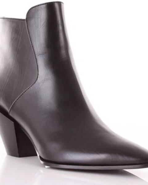 Čierne topánky Roberto Festa Milano