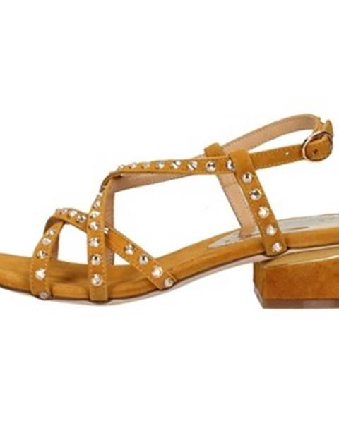 Hnedé topánky Alma En Pena