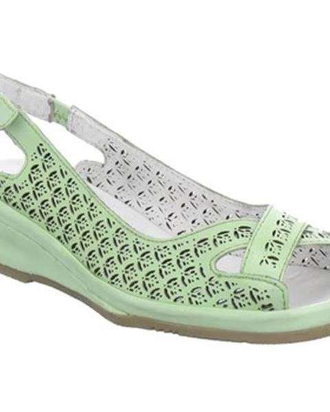 Zelené topánky Jana