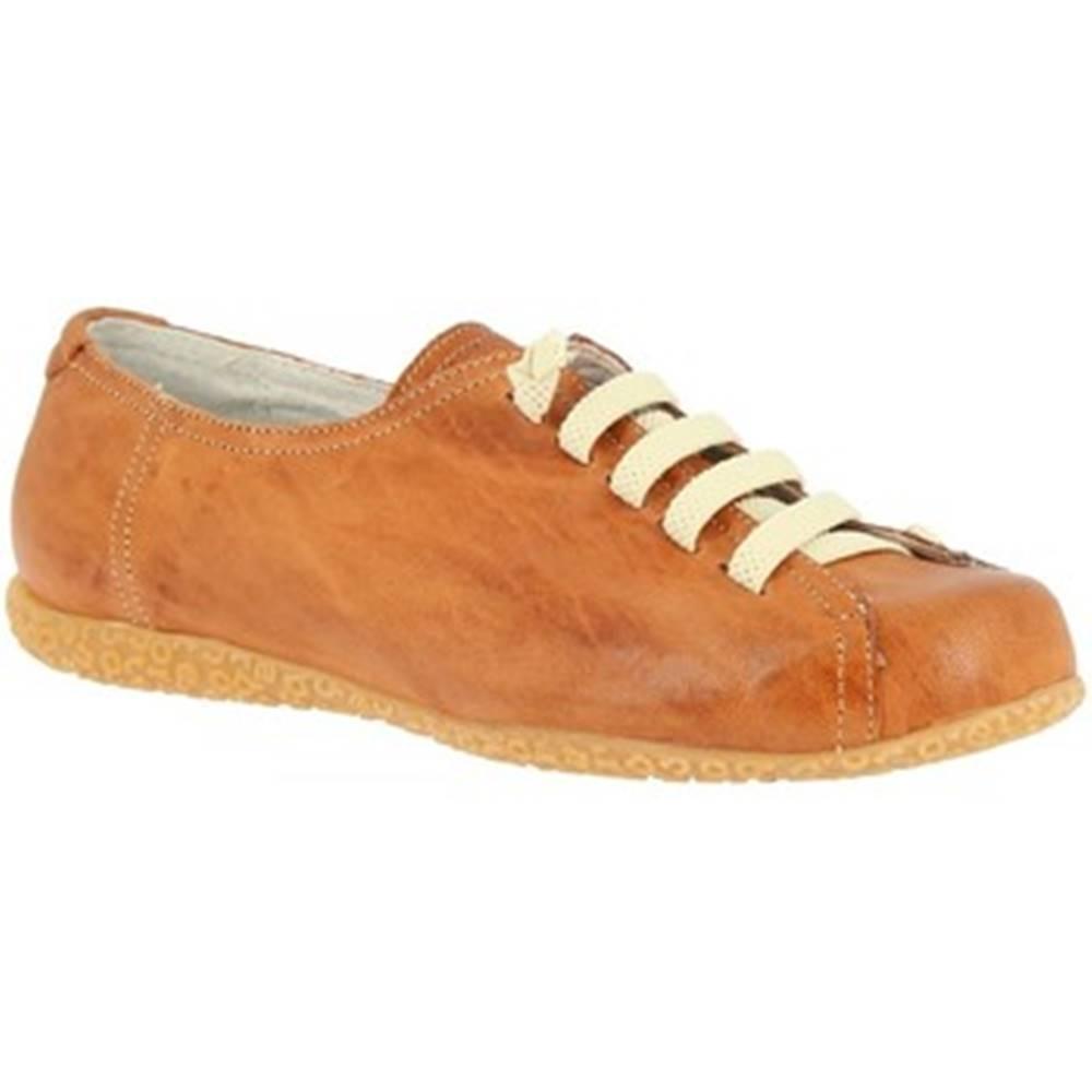 Leonardo Shoes Derbie Leonardo Shoes  1269PINTA CUOIO