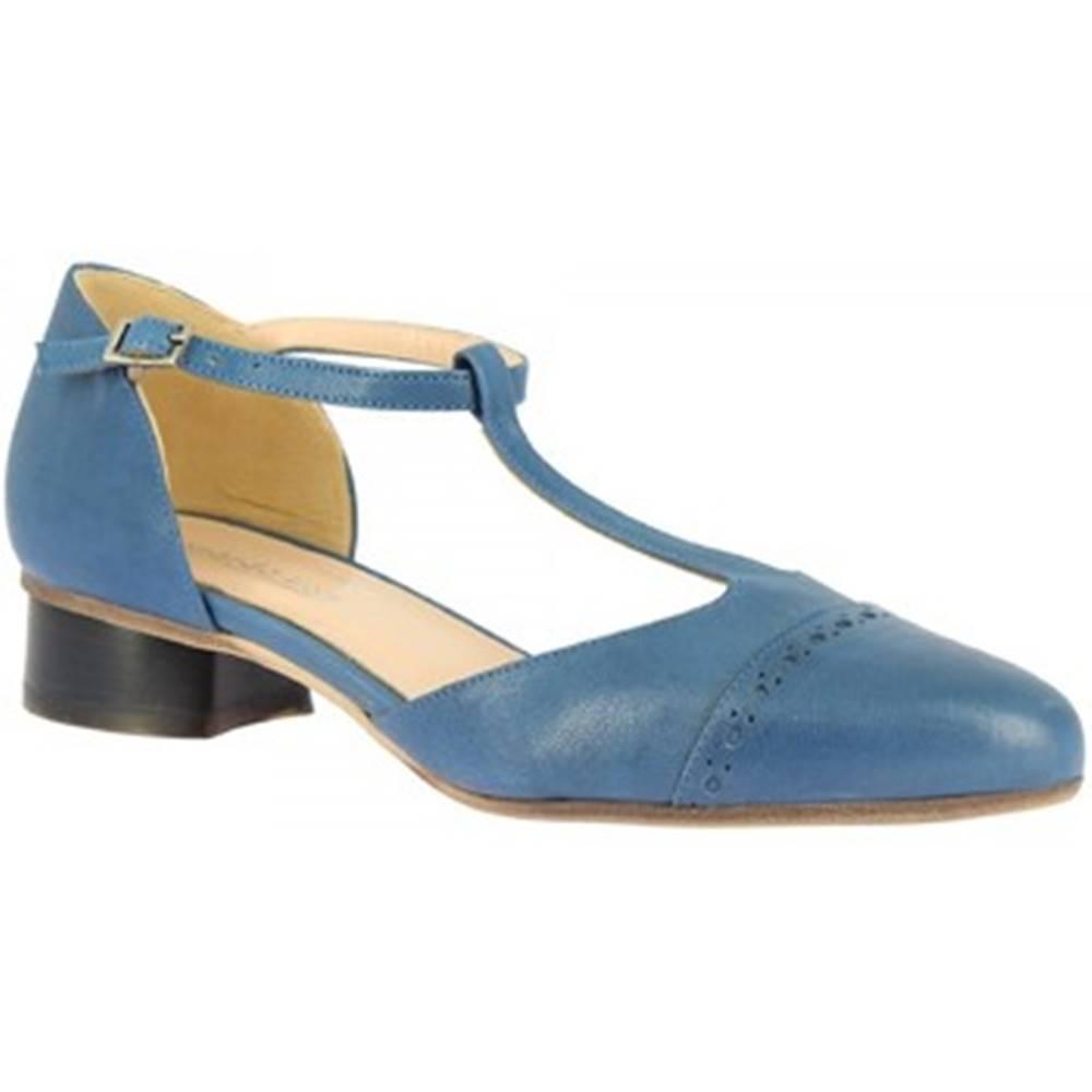 Leonardo Shoes Lodičky Leonardo Shoes  2003LAVI BLUETTE