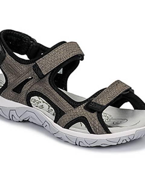 Hnedé športové sandále Allrounder by Mephisto