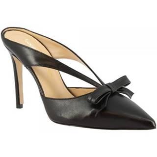 Sandále Leonardo Shoes  1333 NAPPA NERA