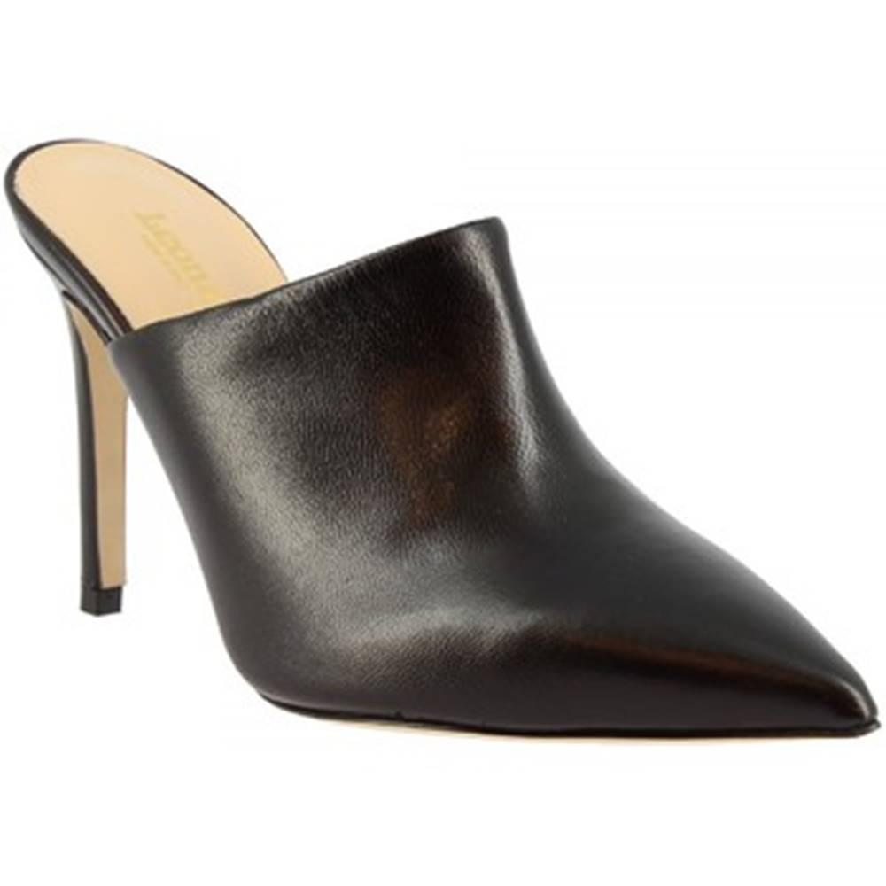 Leonardo Shoes Sandále Leonardo Shoes  1338 NAPPA NERO