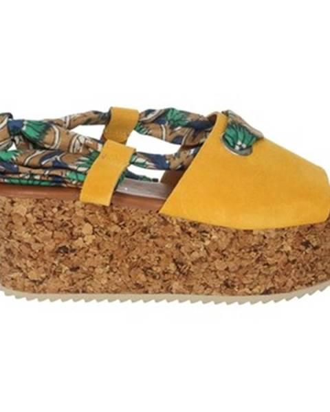 Žlté topánky Marila'