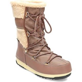Obuv do snehu Moon Boot  Monaco Wool Mid WP