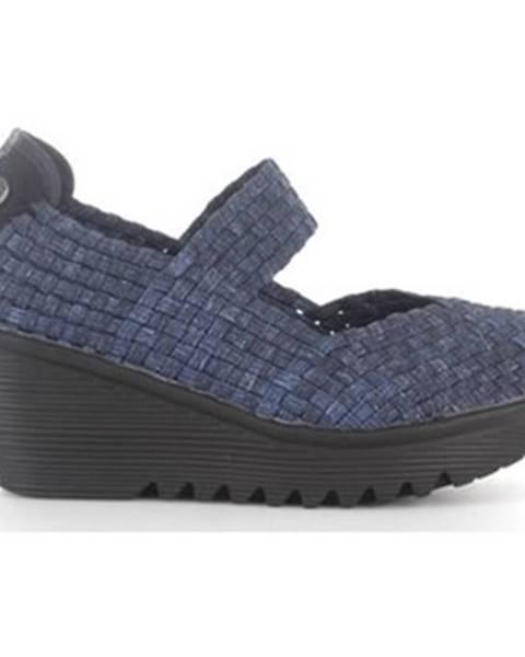 Modré topánky Bernie Mev