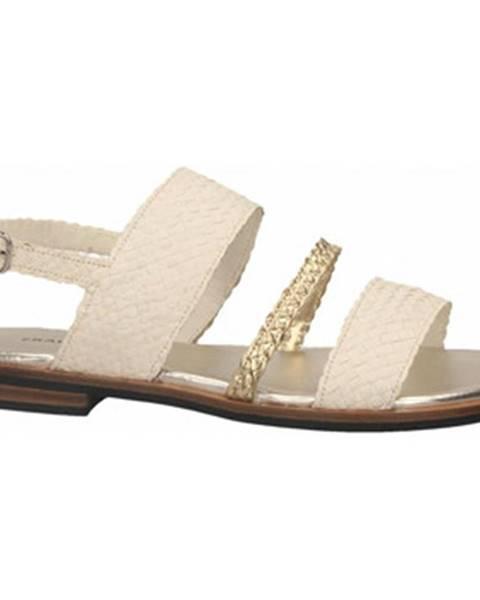 Biele topánky Frau