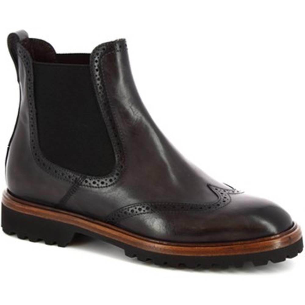 Leonardo Shoes Polokozačky Leonardo Shoes  9023/19 TOM CAPRI AV GRIGIO