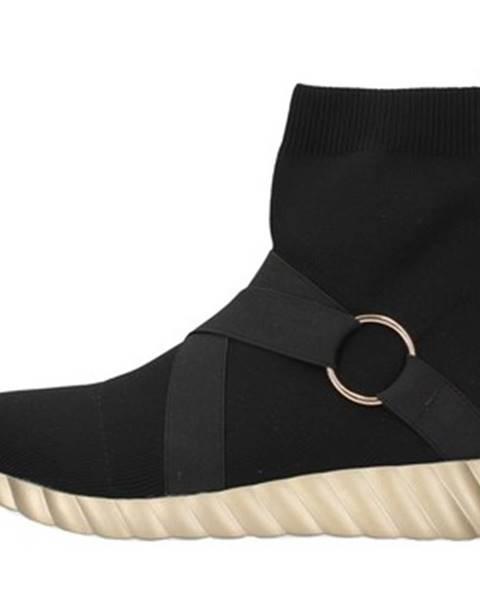 Čierne topánky Uma Parker
