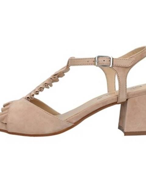 Béžové topánky Mot-Cle'