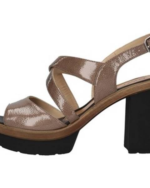 Hnedé topánky Mot-Cle'