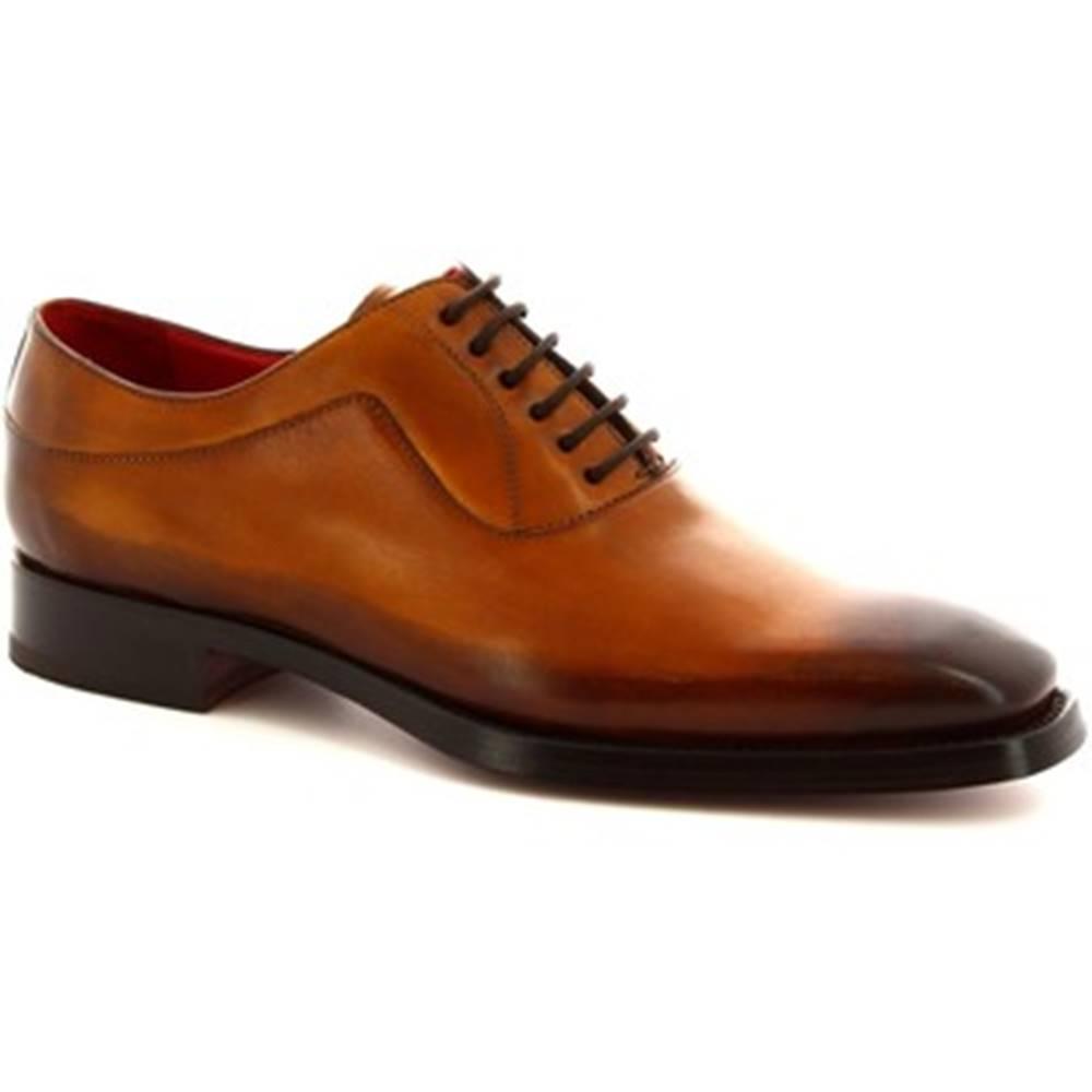 Leonardo Shoes Derbie Leonardo Shoes  9123/19 VITELLO AV SEINA