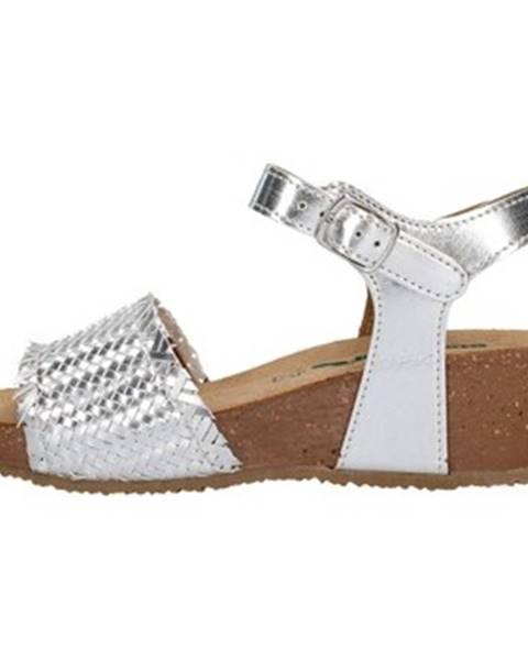 Strieborné topánky Bionatura