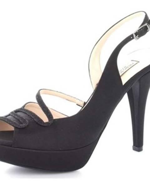 Čierne topánky Louis Michel