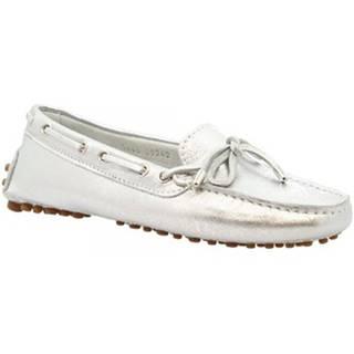 Sandále Leonardo Shoes  7663 MOUSSA ARGENTO