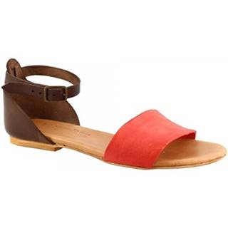 Sandále  PC129L CAPRA ROSSO